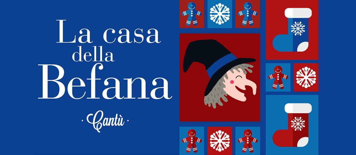 Natale 2019 a Cantù - La casa di Babbo Natale ti aspetta